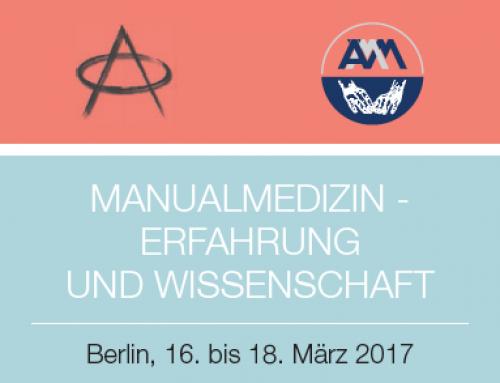 Manualmedizin – Erfahrung und Wissenschaft – 5. Gemeinsamer Kongress von ZiMMT und ÄMM