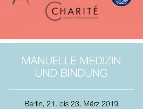 7. Gemeinsamer Kongress von ZiMMT und ÄMM: Manualmedizin und Bindung, 21.-23.03.2019, Berlin